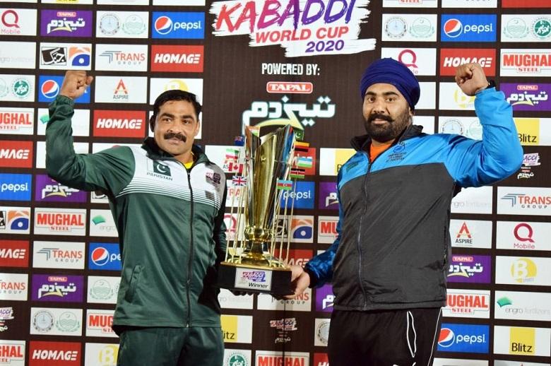 India Pakistan Kabaddi world cup 2020